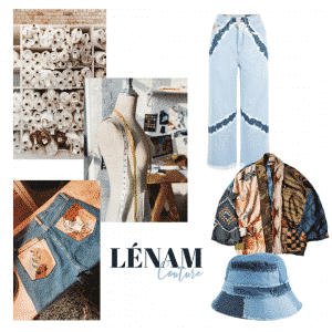 lenam couture agence inspiration upcycling écologie